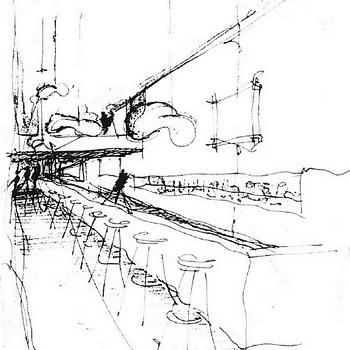 angelika richter - innenarchitektur - planung einer discothek mit, Innenarchitektur ideen